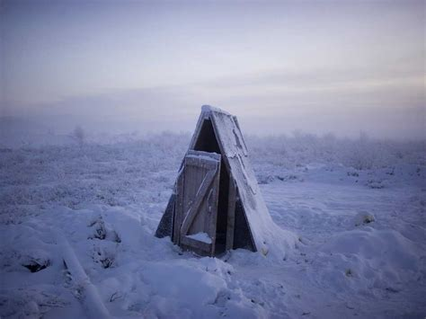 Pictures From The Coldest Inhabited Town On Earth ...