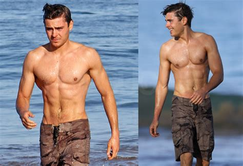 Pictures of Zac Efron Looking HOT Shirtless   POPSUGAR ...