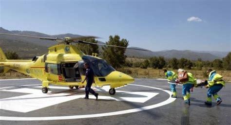 Piden que se mantenja un helicóptero sanitario en Madrid