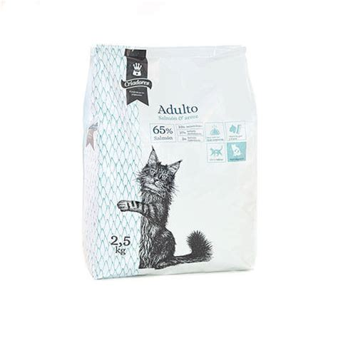 Pienso para gatos Criadores Adulto con salmón - Tiendanimal