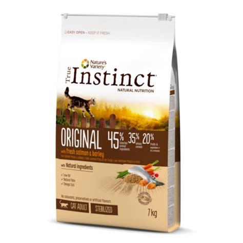 Pienso para gatos esterilizados True Instinct Original ...