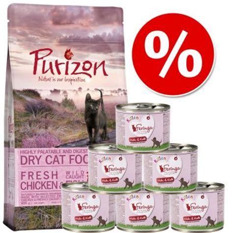 Pienso Purizon Kitten 400 g + comida húmeda Feringa 6 x ...