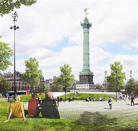 Piétonnisation de la Place de la Bastille - Paris Futur