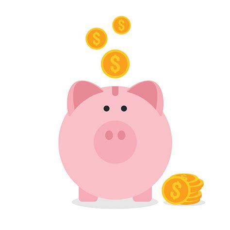 Piggy Bank Clip Art, Vector Images & Illustrations   iStock