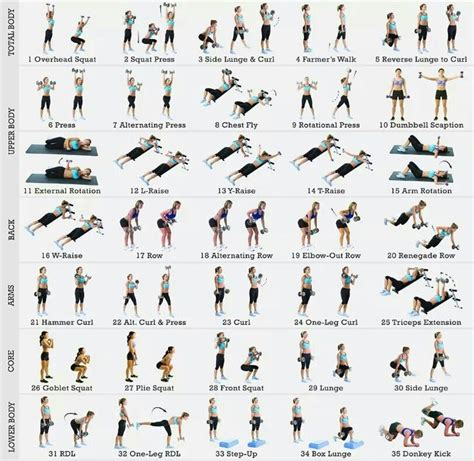 Pin by Denise Bickel on Total Body Workout | Pinterest ...