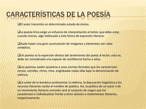 Pin de Elsa en Características de la Poesía   Pinterest ...