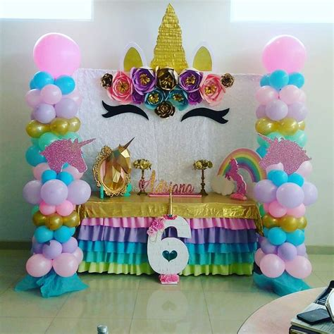 Pin de Frances Pena en unicorn birthday party | Pinterest ...