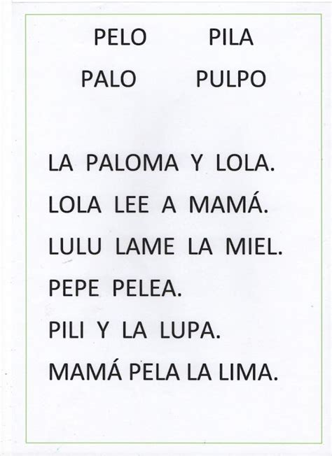 Pin de Queca Mandiles en Cartilla lectura MAYUSCULAS 1 ...