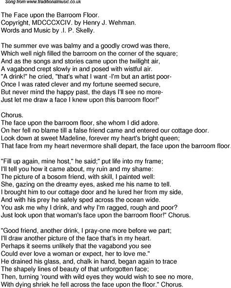 Pin Face to lyrics on Pinterest
