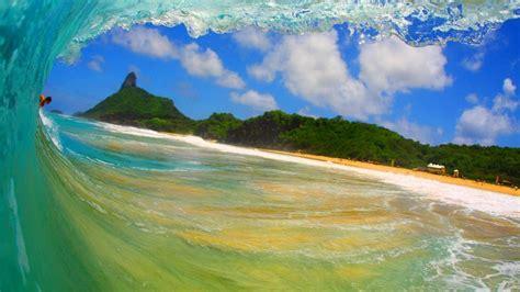Pin Hd ola mar azul backgrounds fondos para el escritorio ...