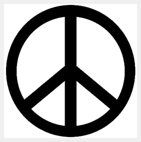 Pin Hippie Simbolo Da Paz Cruz De Nero Jpg Hippies on ...