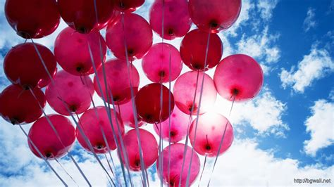 Pink Balloons HD Wallpaper – Background Wallpaper HD