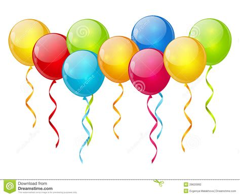 Pink birthday balloons clipart no background