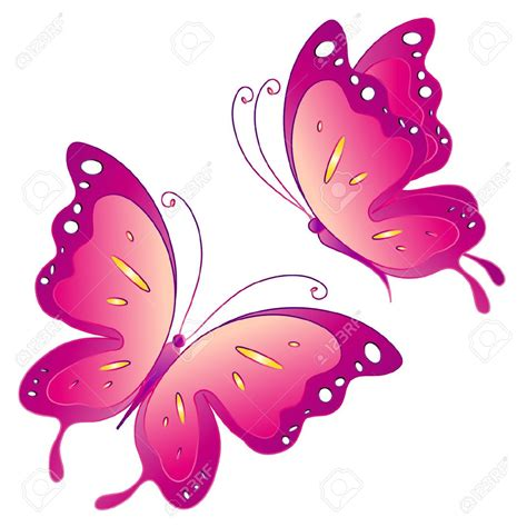 Pink Butterfly Clipart | www.imgkid.com - The Image Kid ...