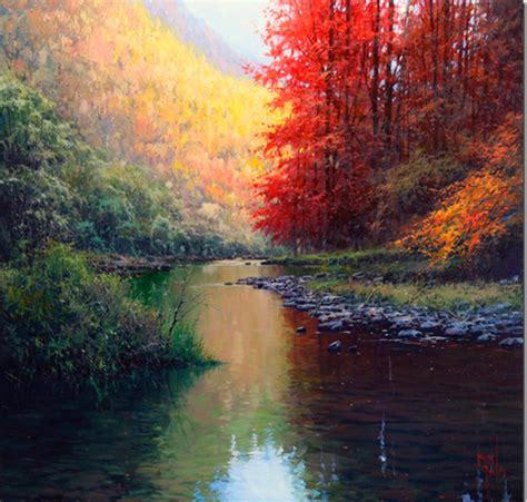 Pintar con espátula paisajes hermosos | Pintar al óleo