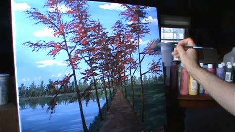 Pintar paisaje de otoño completo leccion de pintura ...
