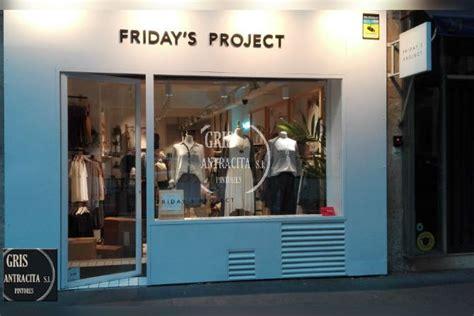 Pintar Tienda de Moda Friday Madrid | Pintores Madrid