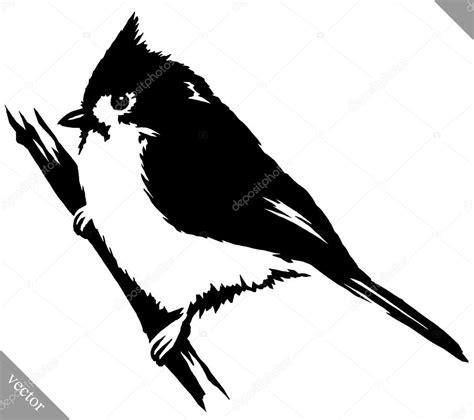 pintura blanco y negro dibujar la ilustración de vector de ...