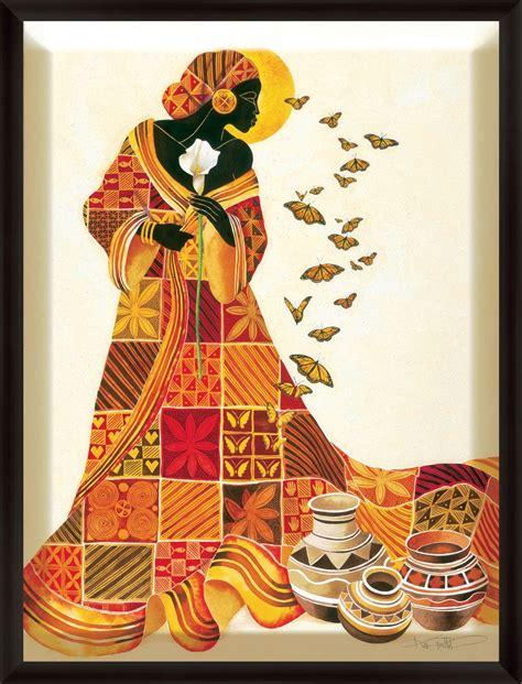 Pintura Moderna y Fotografía Artística : Cuadros Africanos ...