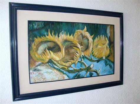 Pintura Oleo Sobre Tela 4 Girasoles Copia De Van Gogh ...