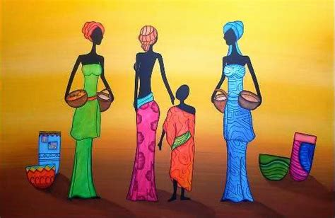 Pinturas Africanas   Fotos De Pinturas Famosas