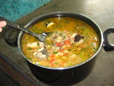 Pira caldo o sopa de pescado   ASUNCION GOURMET