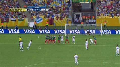 Pirlo's free kick goal : soccer