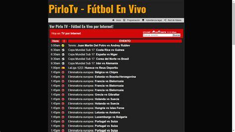 PirloTV: Ver fútbol online en vivo por Internet y gratis ...