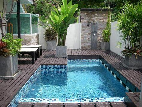 Piscinas pequeñas para terrazas y patios modernos