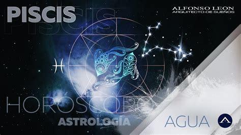 PISCIS | 16 AL 22 DE OCTUBRE | HORÓSCOPO SEMANAL | ALFONSO ...
