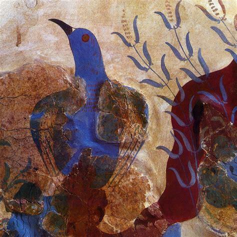 Pittura del Minoico Recente   Arte Minoica