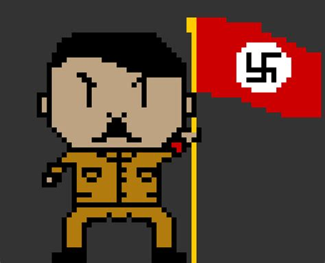Pixel Hitler by ImAdolfHitlerBitch on DeviantArt