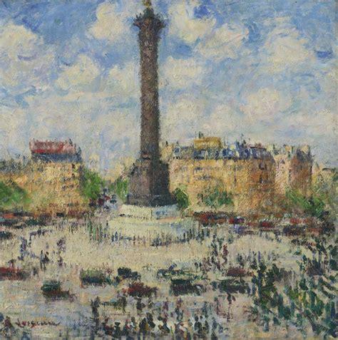 Place de la Bastille - Gustave Loiseau - WikiArt.org