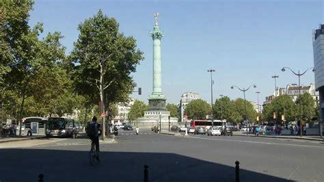 Place de la Bastille, Paris - YouTube