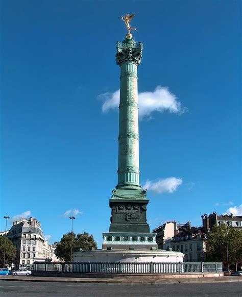 Place De La Bastille Photograph by Paris France