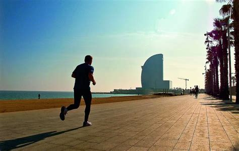 Places to work out outdoors in Barcelona