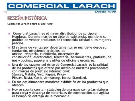 Plan de Comunicaciones   Comercial Larach