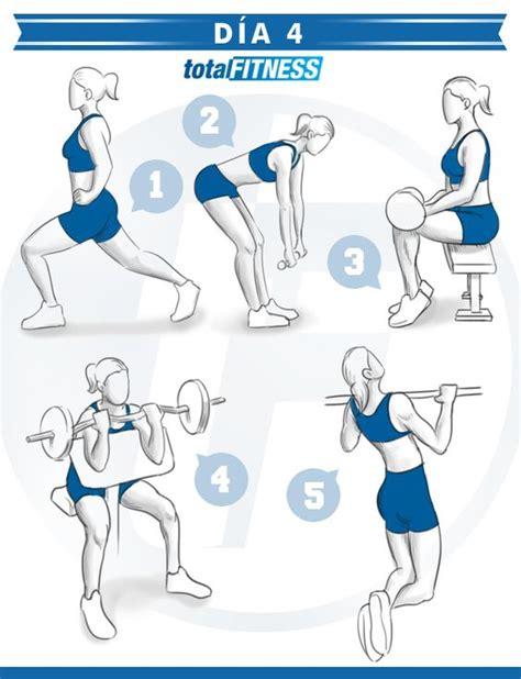 Plan de entrenamiento de 5 días para chicas | Ejercicios ...