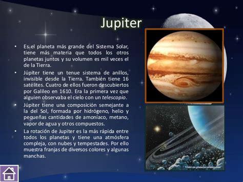 Planeta JÚPITER: Imágenes, Resumen e Información para ...