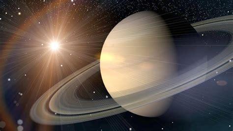 Planetas del sistema solar: viaje a Saturno a la velocidad ...