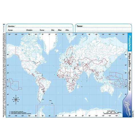 planisferio con division politica » Full HD MAPS Locations ...