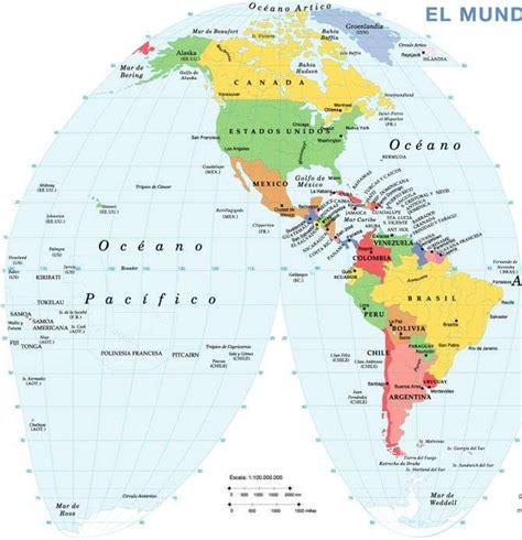 PLANISFERIO MAPA DEL MUNDO MAPAMUNDI Mapa Político del ...