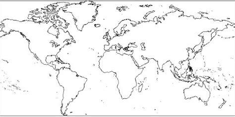 Planisferio mudo para imprimir gratis   Imagui