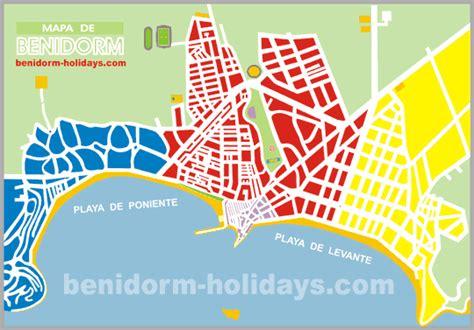 PLANO DE BENIDORM   Benidorm Holidays.Com