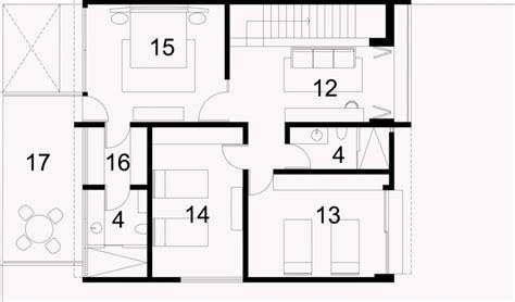 plano de casa minimalista de 3 dormitorios   Planos de ...