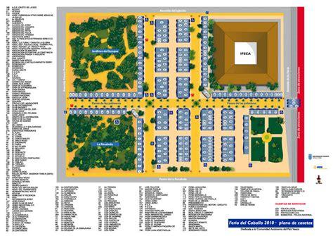 Plano Feria del Caballo de Jerez   JerezSiempre ...