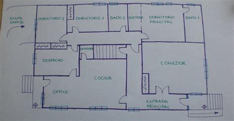 Plano Vivienda A Escala. Best Arquitecto Romn Delgado With ...