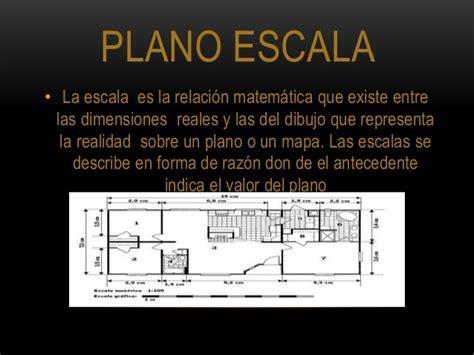 Planos cartesianos y plano escala