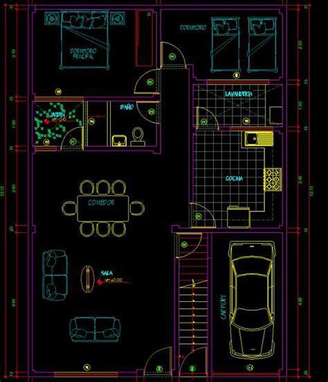 Planos de casa en autocad - Imagui