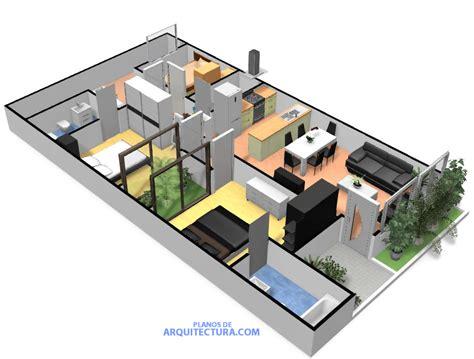 Planos de casa pequeña de un piso, ideas para construir en ...